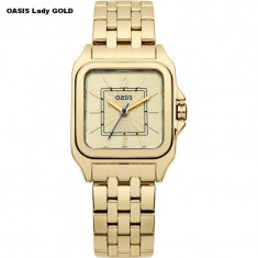 Ceas Dama OASIS Lady GOLD Original NOU