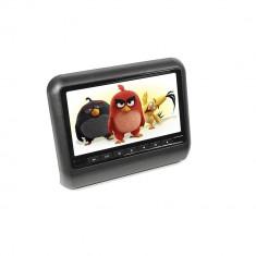 Resigilat : Monitor auto PNI M810-B negru cu ecran de 9 inch si intrare AV, aplica - TV Auto