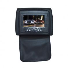 Resigilat : Tetiera cu monitor 7 inch culoare Negru, PNI 667C-B - Monitor Auto