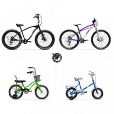 Pachet PAPĂ TOT- Pegas pentru familia ta! - Bicicleta de oras