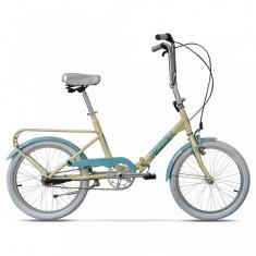 Practic Crem Inghetata, pliabilă cu 3 viteze - Bicicleta pliabile