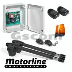 Kit automatizare poarta batanta 2x2.5m -MOTORLINE - Modul