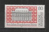 Germania.1985 400 ani Bursa Frankfurt SG.526, Nestampilat