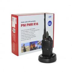 Aproape nou: Statie radio UHF portabila PNI PMR R16