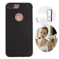 Husa iPhone 7 Plus Stick Surface Neagra - Sticker Telefon