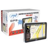 Aproape nou: Sistem de navigatie GPS PNI L807 ecran 7 inch, 800 MHz, 256MB DDR, 8GB, Fara harta