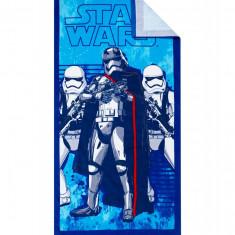 Prosop de plaja Star Wars albastru
