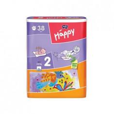 Scutece Happy 2 Mini (3-6 Kg) 38 Buc - Scutece unica folosinta copii