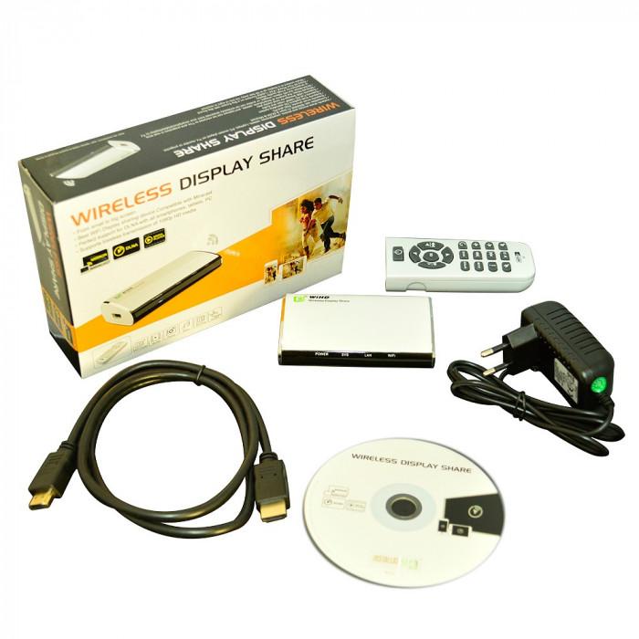 Resigilat : Transmitator PNI AV601 audio video wireless si RJ45 airfun si aircontr