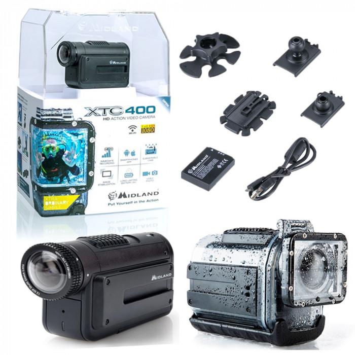 Resigilat : Camera pentru sporturi extreme Midland XTC-400 Action Camera cod C1106