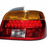 Aproape nou: Lampa spate BMW E39 seria 5 cu leduri semnalizare galbena 1997 - 2000,