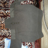 Pulover militar englezeasc lana 100% nr.2 - Pulover barbati U.S. Marshall, Marime: XL/XXL, Culoare: Gri
