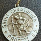 Medalia Sfantul Cristofor protectorul USA