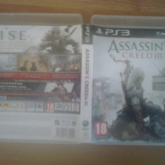Assassin's Creed III - Exclusive Edition - PS 3 - Jocuri PS3, Actiune, 16+, Single player