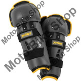 MBS Protectii genunchi copii Thor Sector GP, gri/galben, marime universala, Cod Produs: 27040430PE