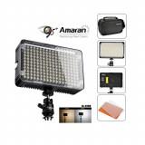 Aputure AL-H198C lampa foto-video cu 198 LED-uri CRI-95 si temperatura de culoare reglabila