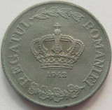 Moneda 5 Lei - ROMÂNIA, anul 1942 *cod 839 Zinc