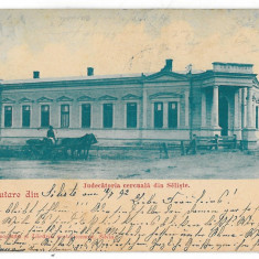 3635 - Litho, Sibiu, SALISTE, Judecatoria - old postcard - used - 1902 - Carte Postala Transilvania pana la 1904, Circulata, Printata