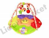 Patura de joaca cu zornaitoare pentru bebelusi