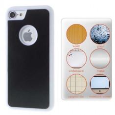 Husa iPhone 7 Stick Surface Alba - Sticker Telefon