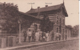 ODOBESTI  , GARA , CIRCULATA 1918  CIRCULATIE GERMANA K.U.K FELDPOST ODOBESTI, Necirculata, Printata