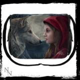 Geantă de umăr cu lup Moonstruck - Gentuta Copii
