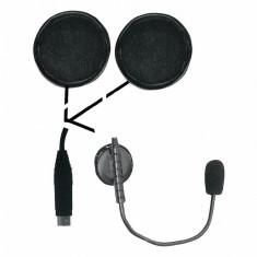 Aproape nou: Casti cu microfon moto Midland OHS500 Cod C800/41955 pentru casca desc