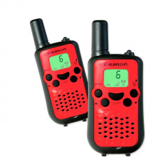 Aproape nou: Statie radio PMR portabila Albrecht Tectalk Easy2 set cu 2bc Cod 29640