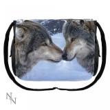 Geantă de umăr cu lupi Prieteni - Gentuta Copii