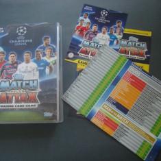 Album+set complet de cartonase Topps Match Attax UEFA Champions League 2015–2016
