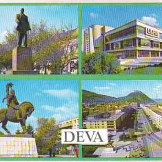 Bnk cp Deva - Vedere din oras - necirculata, Printata