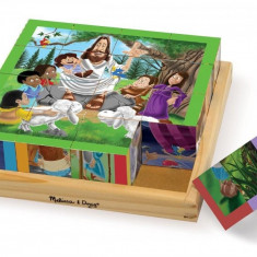 Cuburi Puzzle Melissa & Doug Noul Testament