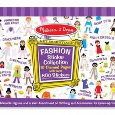 Colectia de abtibilduri Parada de moda Melissa and Doug - Vehicul Melissa & Doug