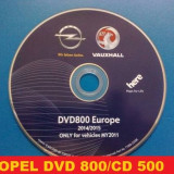 Opel CD DVD harti navigatie DVD800 CD500 Navi OPEL Insignia OPEL Astra GPS - Software GPS
