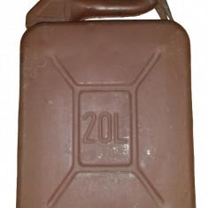 Canistră comnbustibil metal STAS 20L - Canistra Benzina