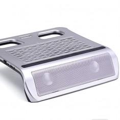 Cooler laptop KX-08 cu USB cu boxe