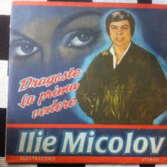 Ilie Micolov Dragoste la prima vedere album disc lp vinyl muzica usoara pop nou - Muzica Pop electrecord, VINIL
