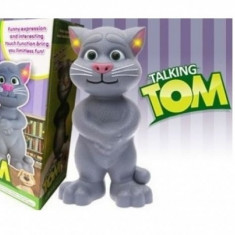 Talking TOM Cat - Jucaria vorbitoare Talking Tom MARE 30 CM - Jucarie interactiva