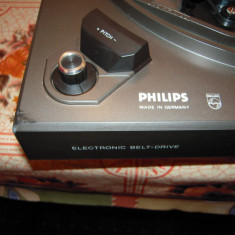 Pick-up PHILIPS automatic 684 (22AF 684/50), cu DEFECTE datorate transportului - Pickup audio Philips, 0-40 W