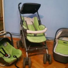Vind carucior 3 in 1 CAM - Carucior copii 3 in 1 Cam, Verde