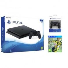Consola Playstation 4 Slim 1Tb Plus Extra Controler Dualshock 4 Plus Fifa 17 Ps4