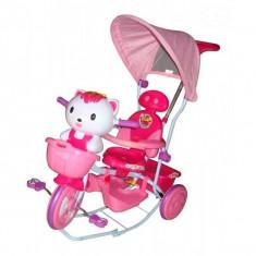Tricicleta EURObaby HQ2001 - Roz - Tricicleta copii