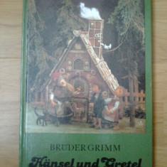 X Hansel und Gretel - Bruder Grimm (limba germana) - Carte in germana