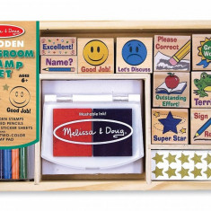 Set de stampile La scoala Melissa and Doug - Vehicul Melissa & Doug