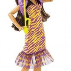 Papusa Monster High Dance The Fright Away Clawdeen Wolf, 6-8 ani, Plastic