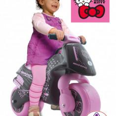 Motocicleta fara pedale Hello Kitty Injusa - Bicicleta copii