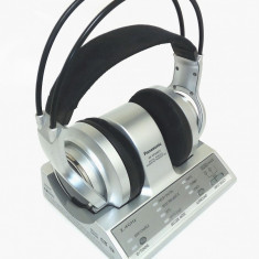 CASTI PROFESIONALE PANASONIC RP-WF6000T ANALOGIC DIGITALE. - Casti DJ