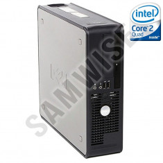 Calculator Intel Core 2 Quad Q9400 2.66GHz 4GB DDR3 250GB DVD GARANTIE 2 ANI !! - Sisteme desktop fara monitor Dell, 2501-3000Mhz, 200-499 GB, LGA775