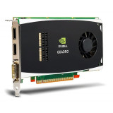 Placa video NVIDIA QUADRO FX 1800, 768MB, 192-Bit, DDR3, DVI, 2xDisplayPort