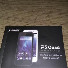 Smartphone Allview P5 Quad - Telefon Allview, Negru, Neblocat
